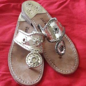 Jack Rogers sandals lightly worn